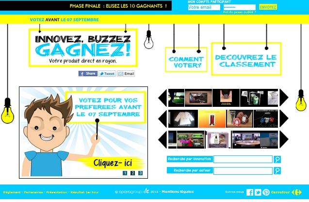 Carrefour fait voter les internautes pour choisir les futurs produits à mettre en rayon