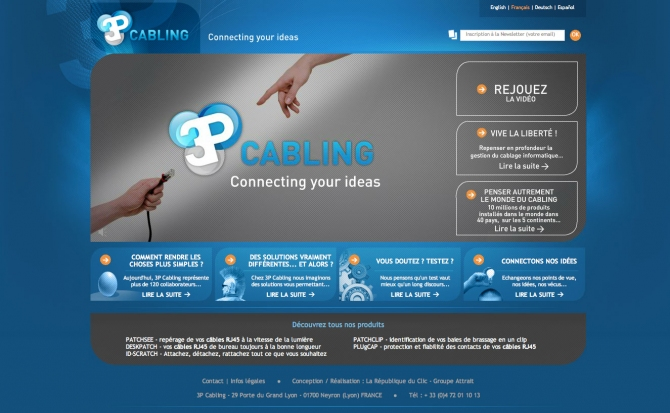 SORTIE DE LA SEMAINE : 3P CABLING