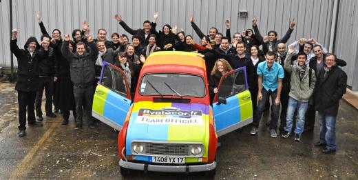 Le groupe Attrait s'engage avec AVATACAR dans le 4L Trophy édition 2012.