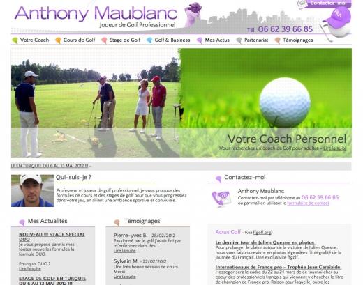 SORTIES DE LA SEMAINE : Anthony Maublanc