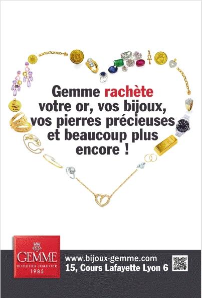 La bijouterie Gemme s'affiche en abribus avec La Rep' du Clic