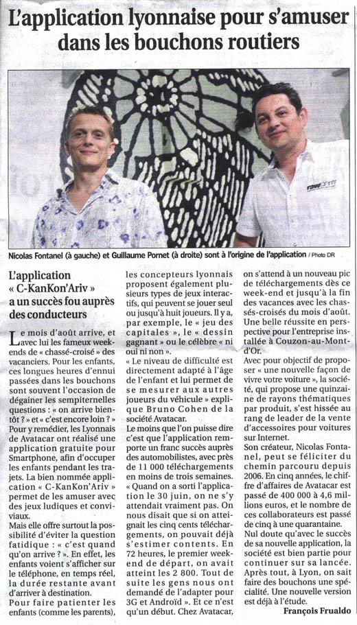CKANKONARIV : Lundi chez Philippe Bouvard sur RTL !