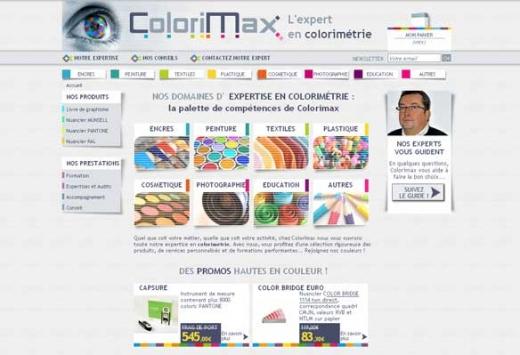 Colorimax.com, une expertise haute en couleurs
