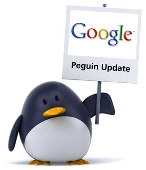 Mise à jour Google Penguin...