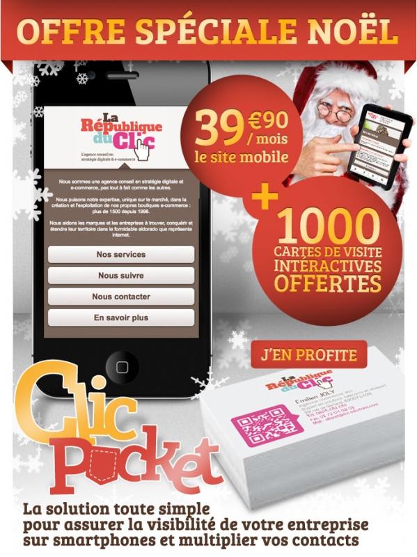 NOUVEAU, La Rep du Clic invente ClicÂ'Pocket : Pour gagner des contacts, cÂ'est dans la poche !