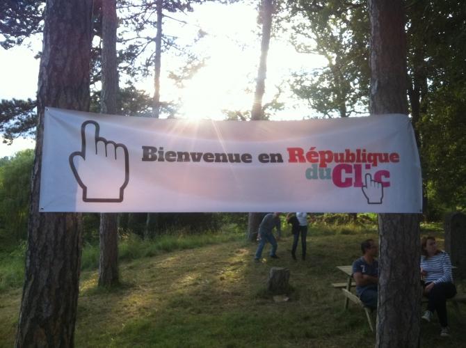 Vendredi 6 juillet a eu lieu la grande Garden Party de La République du Clic !