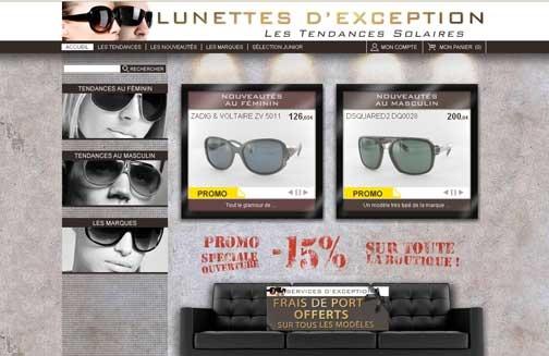 Sur Lunettes-exception.com, les solaires pleuvent !