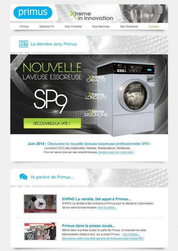 Newsletter Juin Primus Laundry