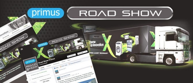 La République du Clic accompagne Primus sur son Road Show