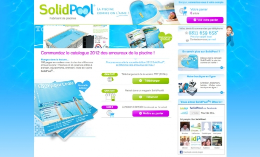 SORTIES DE LA SEMAINE : Catalogue Piscines Solidpool